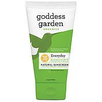 Goddess Garden, Натуральное солнцезащитное средство на каждый день, SPF 30, 6 унций (177 мл)