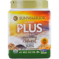 Sunwarrior, Organic, Classic Plus, Natural, 13.2 oz (375 g)