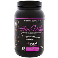 NLA for Her, Her Whey, Ultimate Lean Protein, Chocolate Eclair, 2 lbs (905 g)