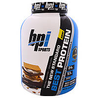 BPI Sports, Best Protein, Advanced 100% Protein Formula, S'Mores, 5.2 lbs (2,363 g)