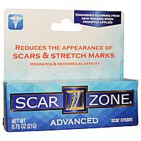 Scar Zone, Усовершенствованный крем от шрамов, 0,75 унции (21 г)