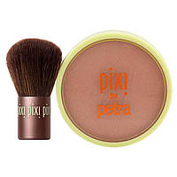 Pixi Beauty, Бронзант для красоты + Кабуки, Тонкий загар, 10,21 г (0,36 унции)