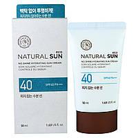 The Face Shop, натуральный Sun, увлажняющий матирующий солнцезащитный крем, SPF40 PA+++, 1.69 жид.унции(50 мл)