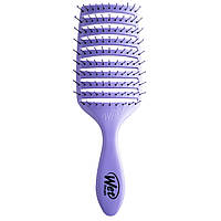 Wet Brush, Speed Dry Brush, Purple, 1 Brush