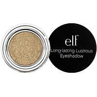 E.L.F. Cosmetics, Стойкие блестящие тени для век, Toast, 0,11 унции (3,0 г)