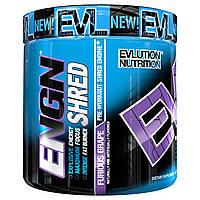 EVLution Nutrition, ENGN Shred, средство активизации перед тренировкой, яростный виноград, 7,8 унц. (222 г)