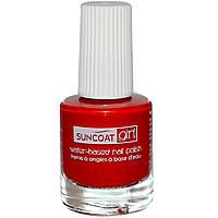Suncoat Girl, Лак для ногтей на водной основе, клубничный восторг, 0,27 унции (8 мл)