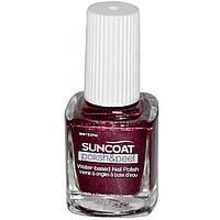 Suncoat, Polish & Peel, лак для ногтей на водной основе, шелковица 0.27 унции (8 мл)