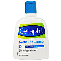 Cetaphil, Нежное средство для очищения кожи, 8 жид.унций (237 мл)