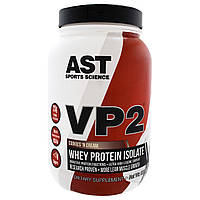 AST Sports Science, VP2, изолят сывороточного протеина, печенье со сливками, 1,99 фунта (902,4 г)