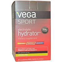 Vega, Спортпит, электролитический напиток, вкус лимона и лайма, 30 пакетиков по 0,15 унции (4,4 г)