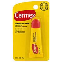 Carmex, Бальзам для губ, классический, с лечебным действием, 0,35 унций (10 г)