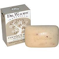 Dr. Woods, Мыло на основе натурального масла ши с кокосовым молоком, 5,25 унций (149 г)