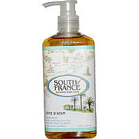 South of France, Cote D' Azur, средство для мытья рук с успокаивающим Алоэ Вера, 8 унций (236 мл)