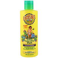 Earth's Best, Натуральный успокаивающий шампунь и средство для мытья тела, лаванда, 8.5 жидких унций (251 мл)