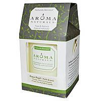 """Aroma Naturals, Столовая свеча с натуральными смесями, """"успокаивающий перламутр"""", с апельсином, гвоздикой и корицей, 7,6 x 8,9 см"""