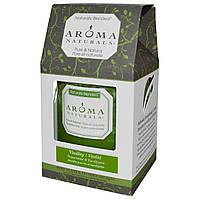 Aroma Naturals, Столовая свеча с натуральными смесями, для жизненной силы, с мятой и эвкалиптом, 7,6 x 8,9 см