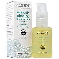 Acure Organics, Укрепляющая сыворотка для лица, 1 жидкая унция (30 мл)