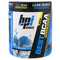 BPI Sports, Best BCAA Shredded Lean Muscle Recovery Formula, Snow Cone , 9.7 oz (275 g)