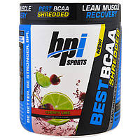 BPI Sports, Best BCAA Shredded, Lean Muscle Recovery Formula, Cherry Lime , 9.7 oz (275 g)