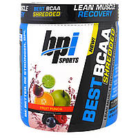 BPI Sports, Best BCAA Shredded, Lean Muscle Recovery Formula, Fruit Punch, 9.7 oz (275 g)