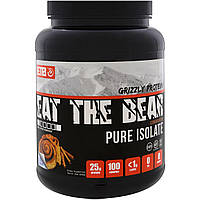 Eat the Bear, Grizzly Protein, Pure Isolate, Cinnamon Bun, 2 lbs (908 g)