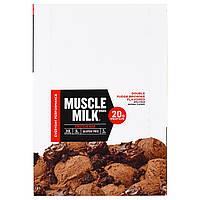 Cytosport, Inc, Muscle Milk Red Bar, Fudge Brownie, 12 Bars, 2.22 oz (63 g) Each
