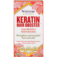 ReserveAge Nutrition, Keratin Hair Booster, 120 Capsules