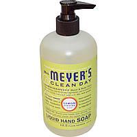 Mrs. Meyers Clean Day, Жидкое мыло для рук с ароматом лимонной вербены, 12.5 жидких унций (370 мл)
