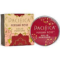Pacifica, Твердые духи, персидская роза, 0,33 унции (10 г)