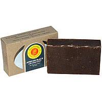 Sunfeather Soaps, Африканское черный мыло, 4,3 унции (121 г)