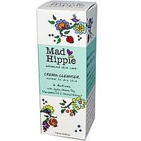 Mad Hippie Skin Care Products, Кремовое Средство для Умывания, 6 Активных Веществ 4.0 жидких унции (118 мл)