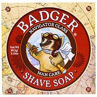 Badger Company, Мыло для бритья, категория - мореплаватель, для мужчин, 3,15 унций (89,3 гр)