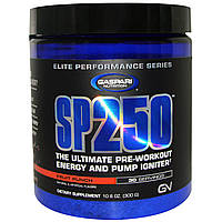 Gaspari Nutrition, SP250, Pre-Workout, Fruit Punch, 10.6 oz (300 g)