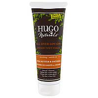 Hugo Naturals, Лосьон для всего тела, масло ши и овсяные хлопья, 8 жидк. унц. (236 мл)