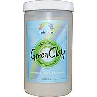 Rainbow Research, Французская зеленая глина в порошке, маска для лица, 32 унции
