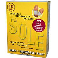 TRR Enterprises Inc., Подушечки для ног Inner Health Sole Pads, 10 подушечек