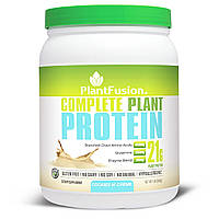 PlantFusion, Полностью растительный протеин, со вкусом крема и печенья, 1 фунт (454г)