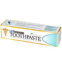 Life Extension, Зубная паста, вкус натуральной мяты, 113,4 г