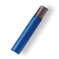 Тримминг c широкими зубцами  для уменьшения объема и длины (голубой), ARTERO