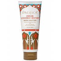 Pacifica, Индийский кокосовый нектар, Масло для тела с экстрактами ши и манго, 8 жидких унций (236 мл)