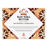 Nubian Heritage, Мыло из нерафинированного масла ши, с антивозрастным и защитным эффектом (142 г)