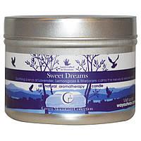 Way Out Wax, Натуральные ароматические свечи, сладкие сны, 3 унции (85 г)
