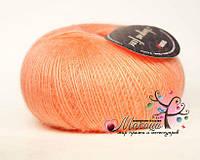 Пряжа Ангора фине Сеам, №141324, оранж
