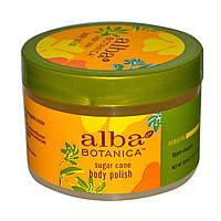 Alba Botanica, Скраб для тела с тростниковым сахаром, 10 унций (284 г)