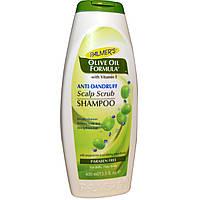 Palmer's, Palmer's, Формула с оливковым маслом, шампунь-скраб против перхоти кожи, 13,5 жидких унций (400 мл)
