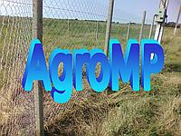 Поставим забор на огород, высота 1.5м