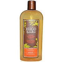 Hugo Naturals, Шампунь для защиты окрашенных волос, манго, 12 жидк. унц. (355 мл)