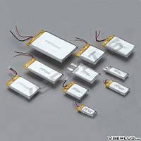Аккумулятор к планшету, 350 mAh, 4,0 х 20 х 35 мм.