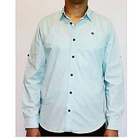 Рубашка х/б с длинным рукавом для мужчин Арт.50-2 Разм. 46-50